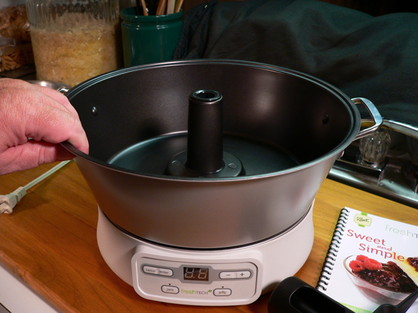 FreshTECH Jam & Jelly Maker, the pot.