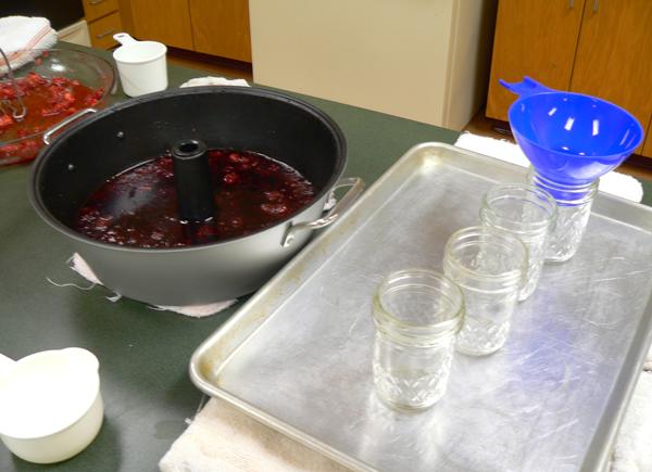 FreshTECH Jam & Jelly Maker, ready to can.