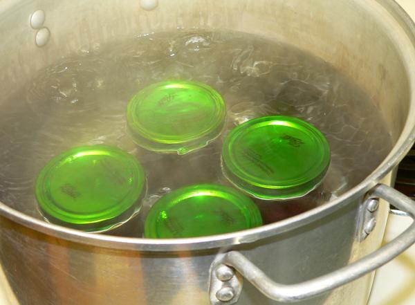 FreshTECh Jam & Jelly Maker, four jars.