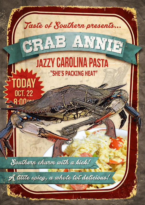 Crab Annie, the poster.