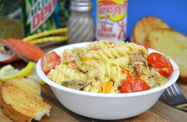 Crab Annie pasta recipe, as seen on Taste of Southern.