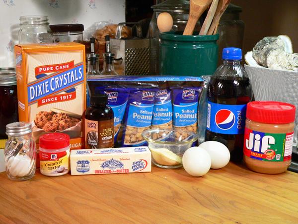 Pepsi-Peanuts-Pie, ingredients you'll need.