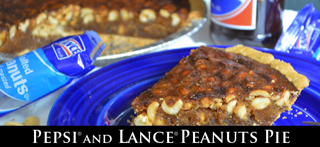Pepsi and Lance Peanuts Pie, as created by Taste of Southern.