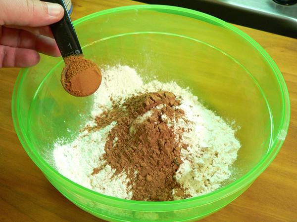 Spanish Bar Cake, add cinnamon.