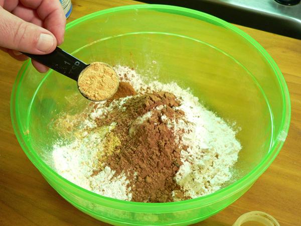 Spanish Bar Cake, add ginger.