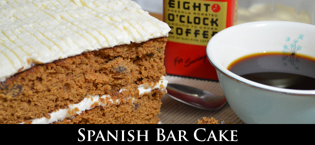 Spanish Bar Cake, slider.
