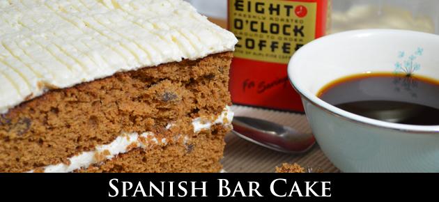 Spanish Bar Cake, slider.