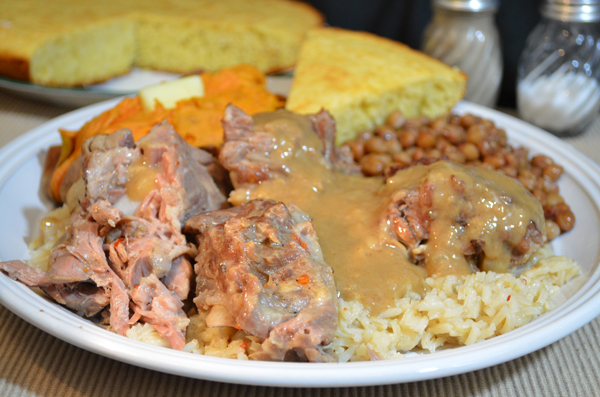 Pork neck bones with gravy taste of southern pork neck bones as seen on taste of southern follow our easy step by step photo illustrated recipe forumfinder Image collections