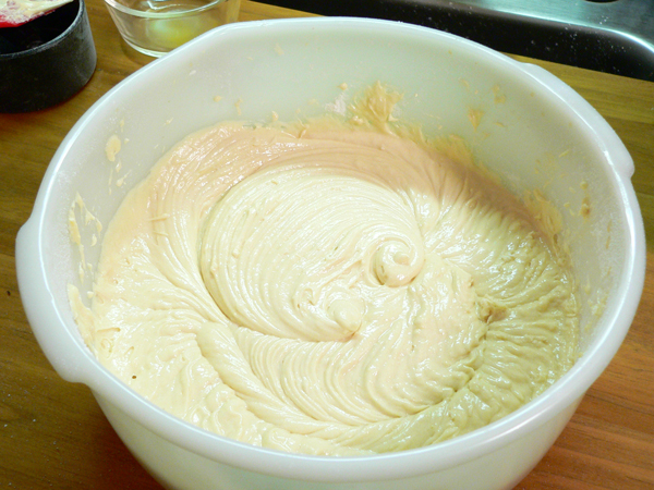 Coconut Cake, batter is ready.