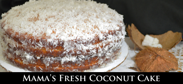 Grandma S Old Fashioned  Layer Coconut Cake