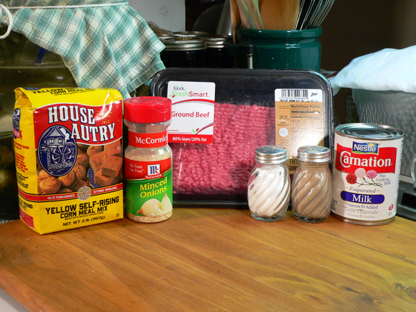 George's BBQ Sauce Meatballs, ingredients you'll need.