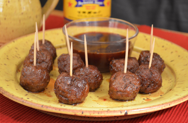 Georges BBQ Sauce Meatballs, enjoy.