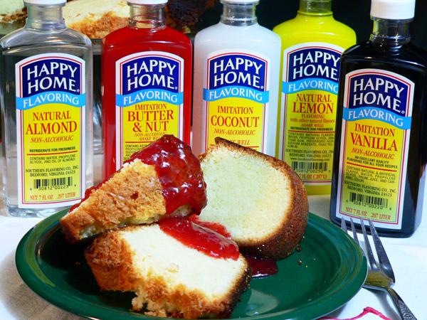 Southern Flavoring Pound Cake. enjoy.