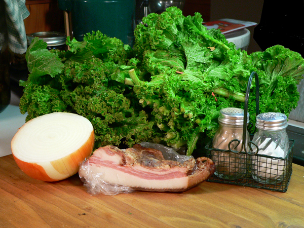Mustard Greens Recipe, ingredients you'll need for this recipe.