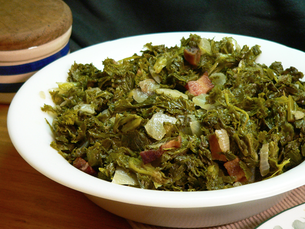Mustard Greens Recipe, as seen on Taste of Southern.