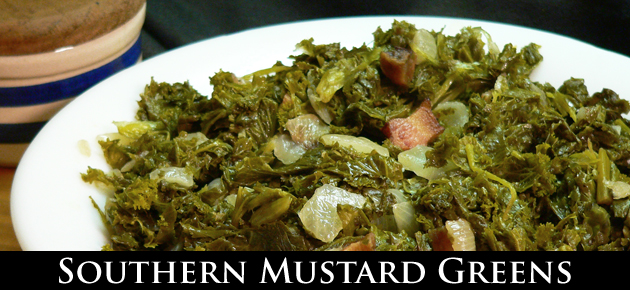 Mustard Greens Recipe, slider.