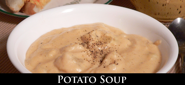 Potato Soup Recipe, as seen on Taste of Southern.com.