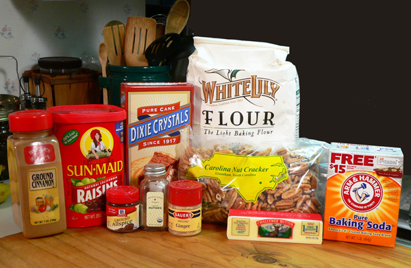 Canadian War Cake recipe, you'll need these ingredients.