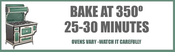 Canadian War Cake recipe, baking time and temp.