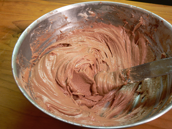 Canadian War Cake Recipe, mix until creamy and spreadable.