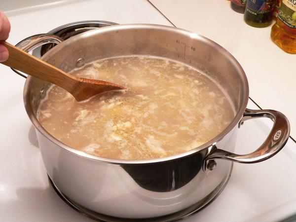 Chicken and Rice, stir.