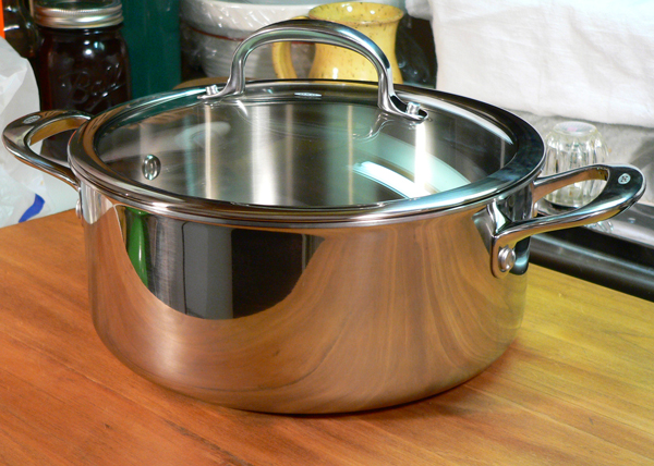 Chicken and Rice, the new OXO 5qt. Casserole pot.