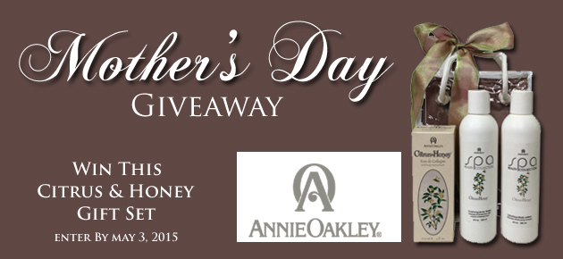 Annie Oakley - Mother's Day Giveaway 2015, on Taste of Southern.