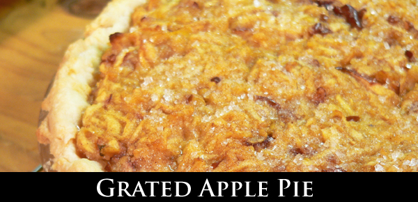 Grated Apple Pie, slider.