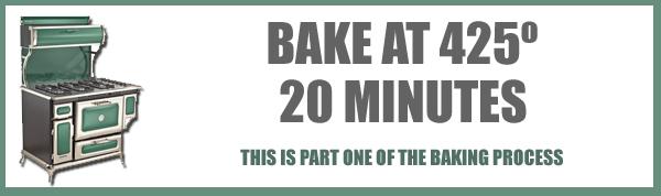 Rhubarb Pie, baking, part one.