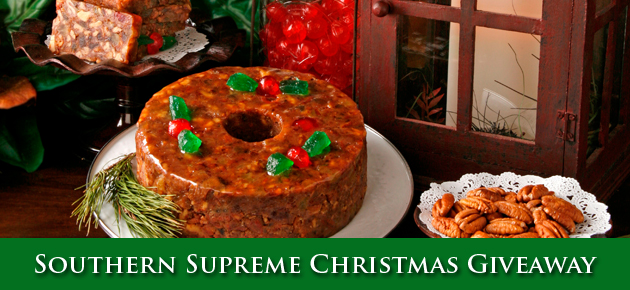 Southern Supreme Christmas Giveaway for 2015.