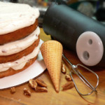 Butter Pecan Cake recipe, as seen on Taste of Southern.