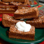 Mary's Maine Bars, a recipe by Dorie Greenspan. Printable recipe.