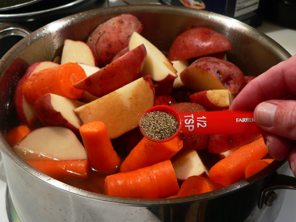 Pot Roast recipe, add the black pepper.