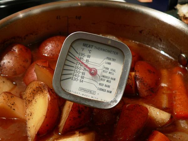 Pot Roast recipe, bake until tender.