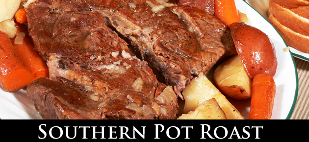 Southern Pot Roast Recipe from Taste of Southern.