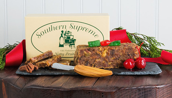 1lb Southern Supreme Nutty Fruitcake