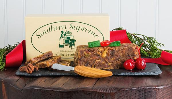 1lb Southern Supreme Nutty Fruitcake