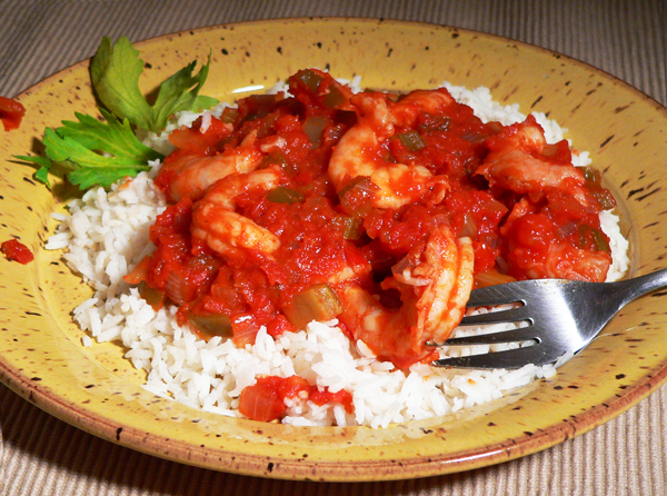 Shrimp Creole, enjoy.