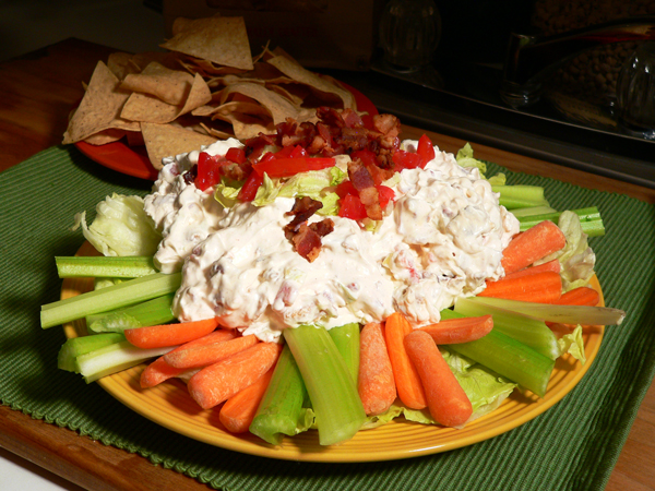 Country BLT Dip, enjoy.