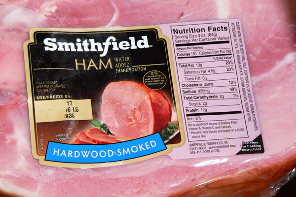 Ham Shank, check your label to see what you have.