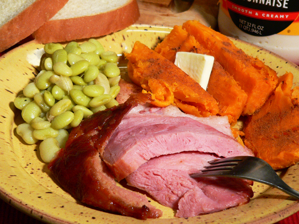 Baked Ham Shank recipe, as seen on Taste of Southern.