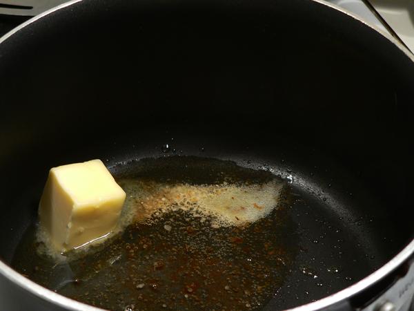 Pork Roast, add butter.