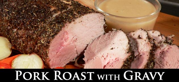 Pork Roast, slider