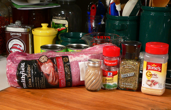Pork Roast, you'll need these ingredients.