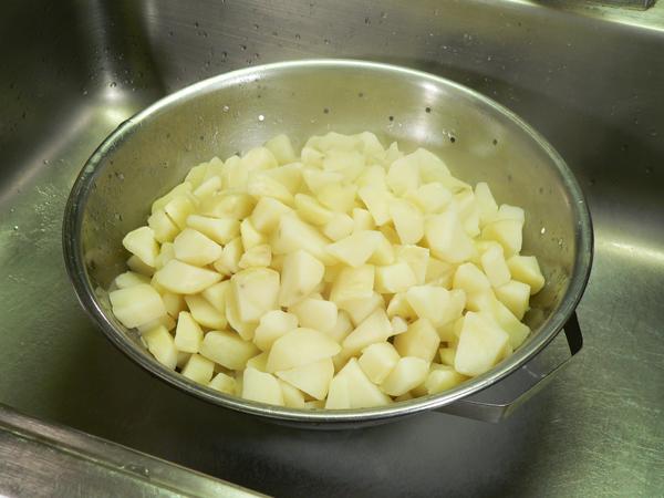 Potato Salad, drain.