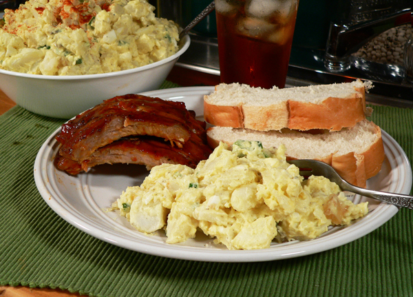 Southern Potato Salad recipe, as seen on Taste of Southern.com.