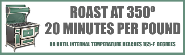 Roast Chicken, roasting time and temp.