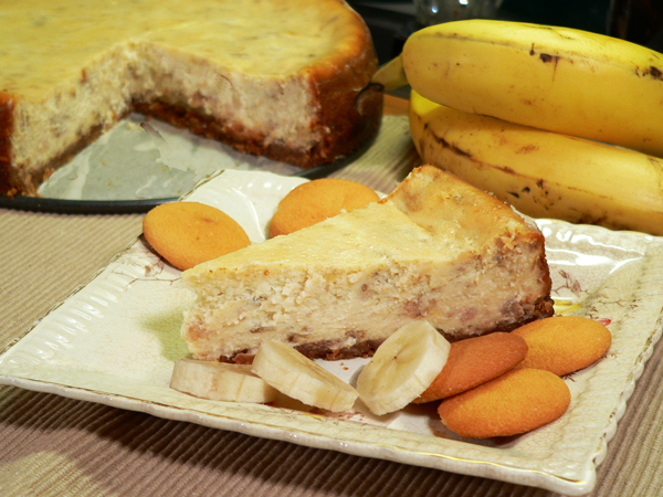 Banana Pudding Cheesecake Recipe, as seen on Taste of Southern.