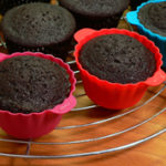 Chocolate Sour Cream Cupcakes, as seen on Taste of Southern.com.