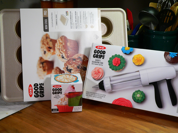 Vanilla Buttercream Frosting, my oxo tools.